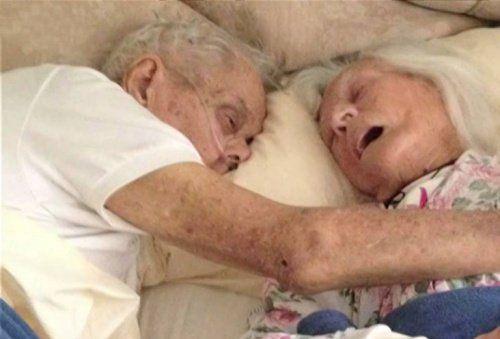 Вічна любов: подружжя, померлі в одному ліжку після 75 років спільного життя